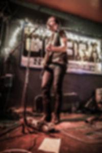 Jack Evan Johnson playing at The Cobra in Nashville, TN - Decembr 2017