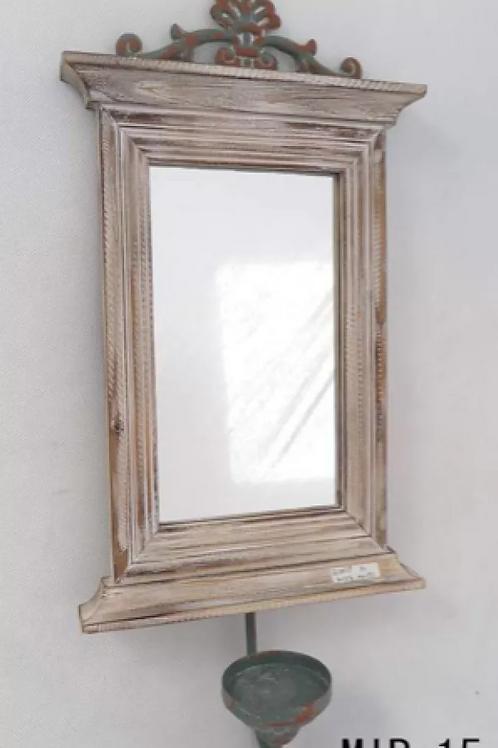 Espejo Porta Vela