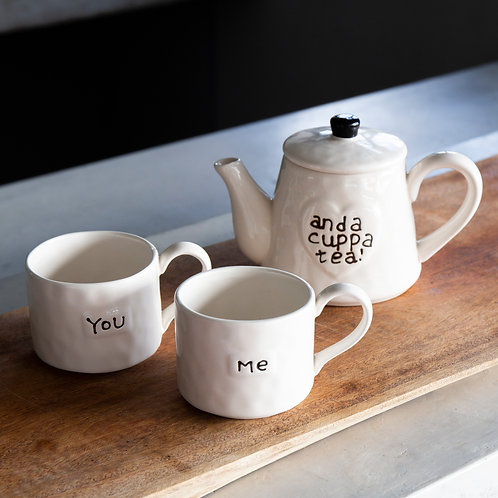 Tetera y Tazas You and Me
