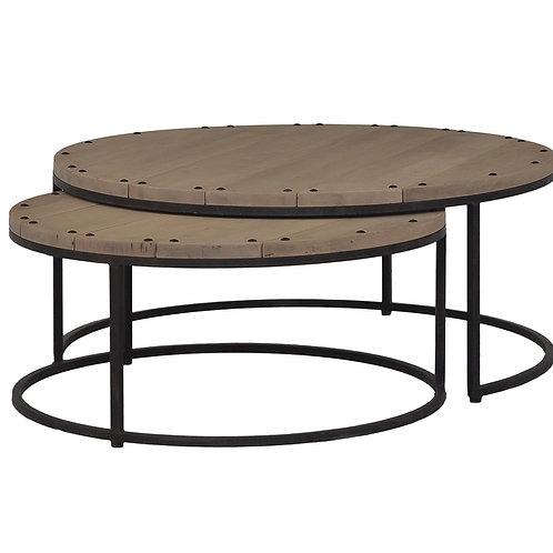 Paddington Nesting Round Coffee Table