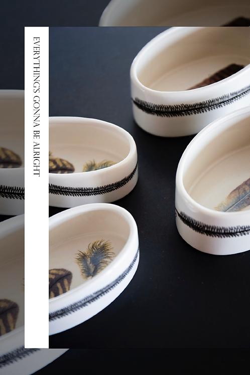 Set bowls Pluma