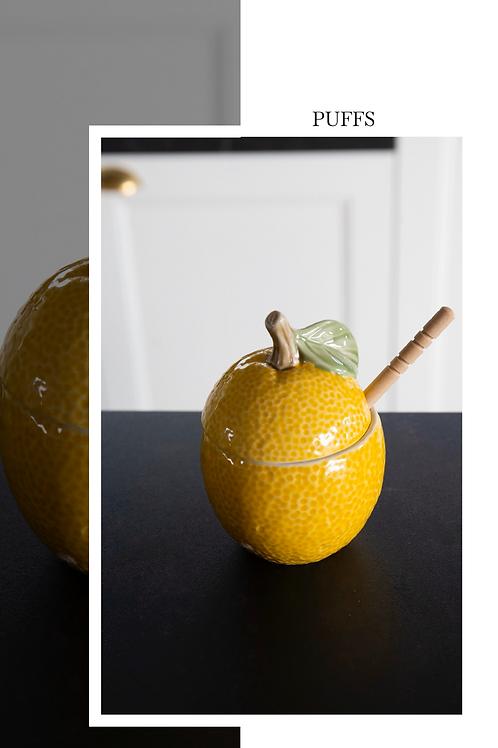 Lemon honey dipper
