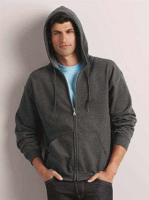 Adult Zipper Hooded Sweatshirt