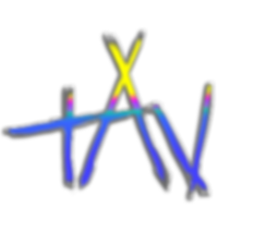 TAV white logo