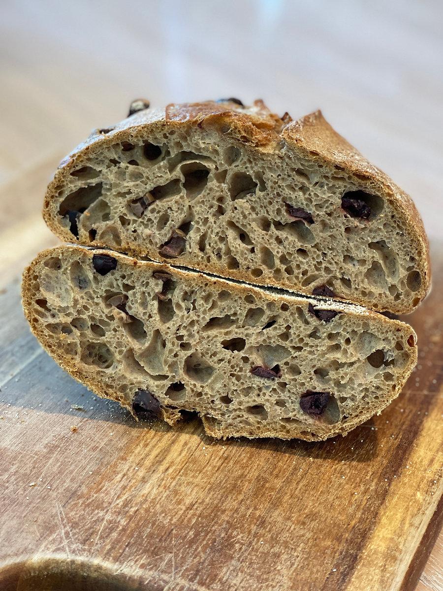 לחם מחמצת 100% כוסמין.JPG
