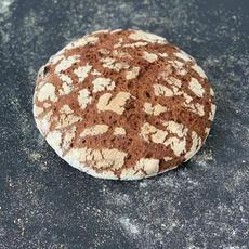לחם מחמצת 100% שיפון מלא.JPG
