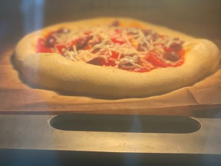 מתכון לפיצה מחמצת (שאור)