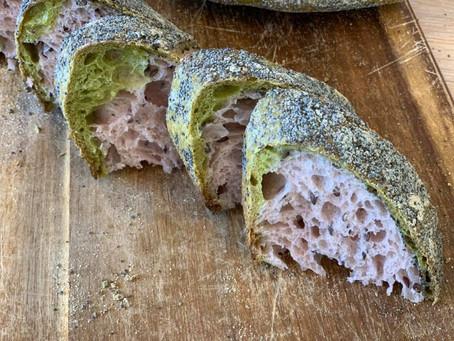 לחם מחמצת (שאור) - שילוב של בצקים