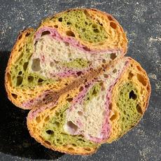 לחם מחמצת (שאור) צבעוני.JPG