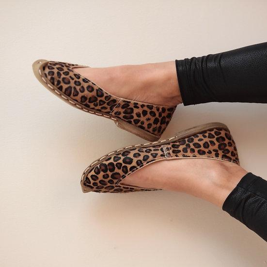 Havva Ana Ayakkabı Leopar Modeli