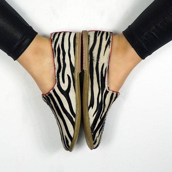 Bruce Lee Ayakkabı Zebra Modeli