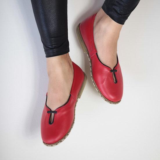 Bayan Wingchun Ayakkabı Kırmızı Model
