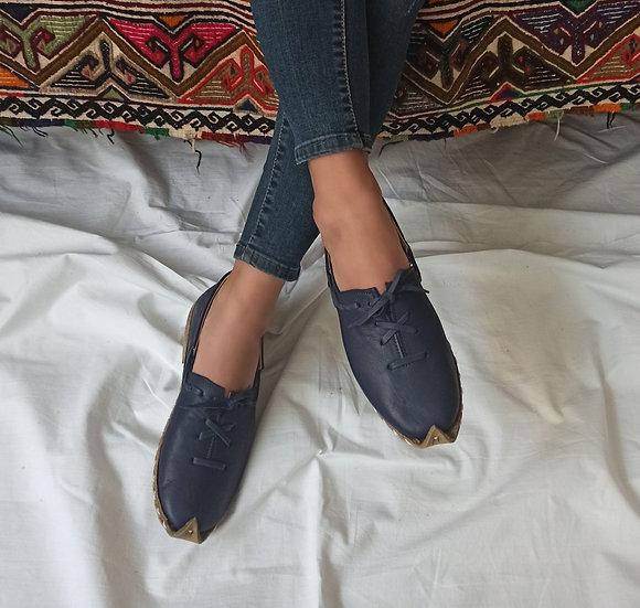 Anadolu Ayakkabı Lacivert Modeli