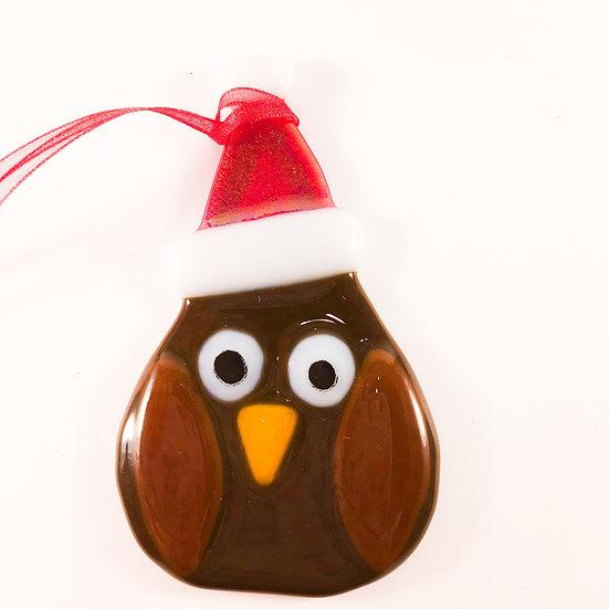 Owl Christmas tree decoration