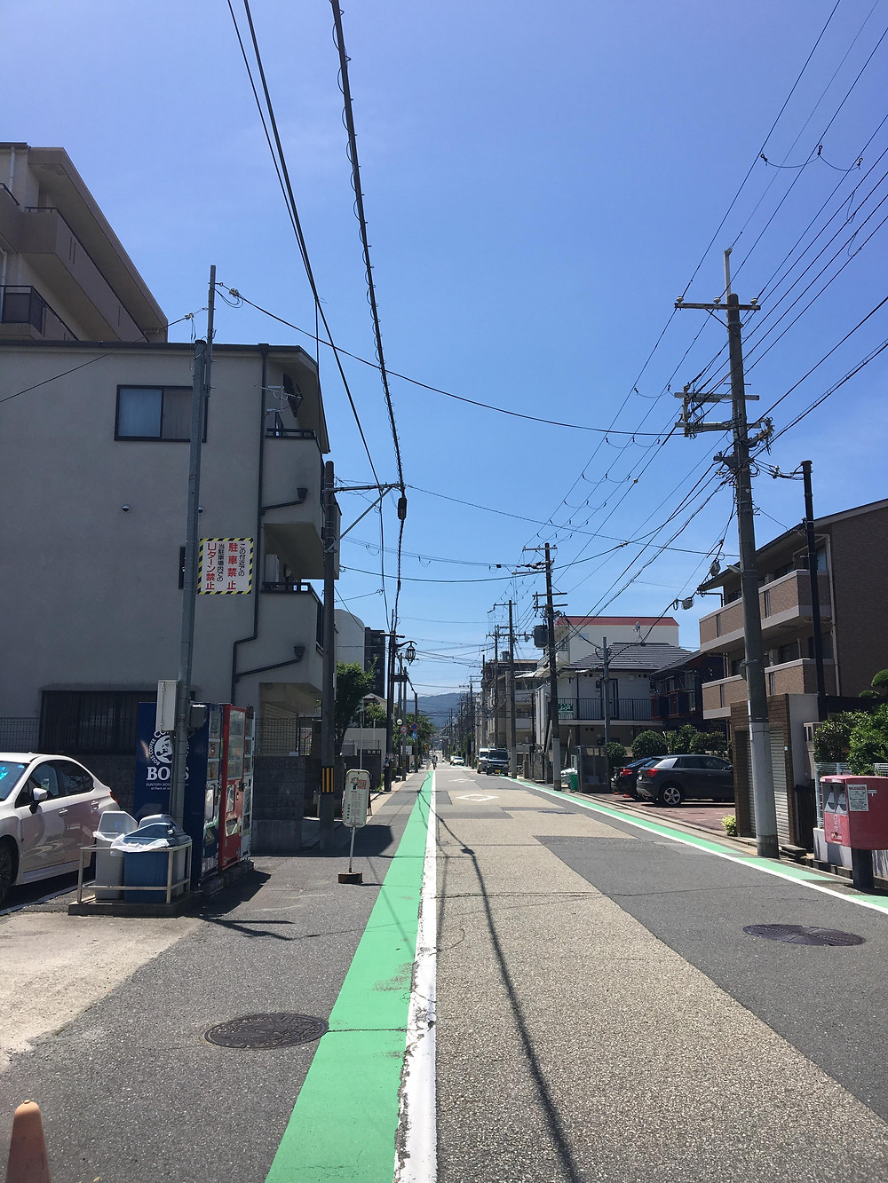 My street in Nishinomiya