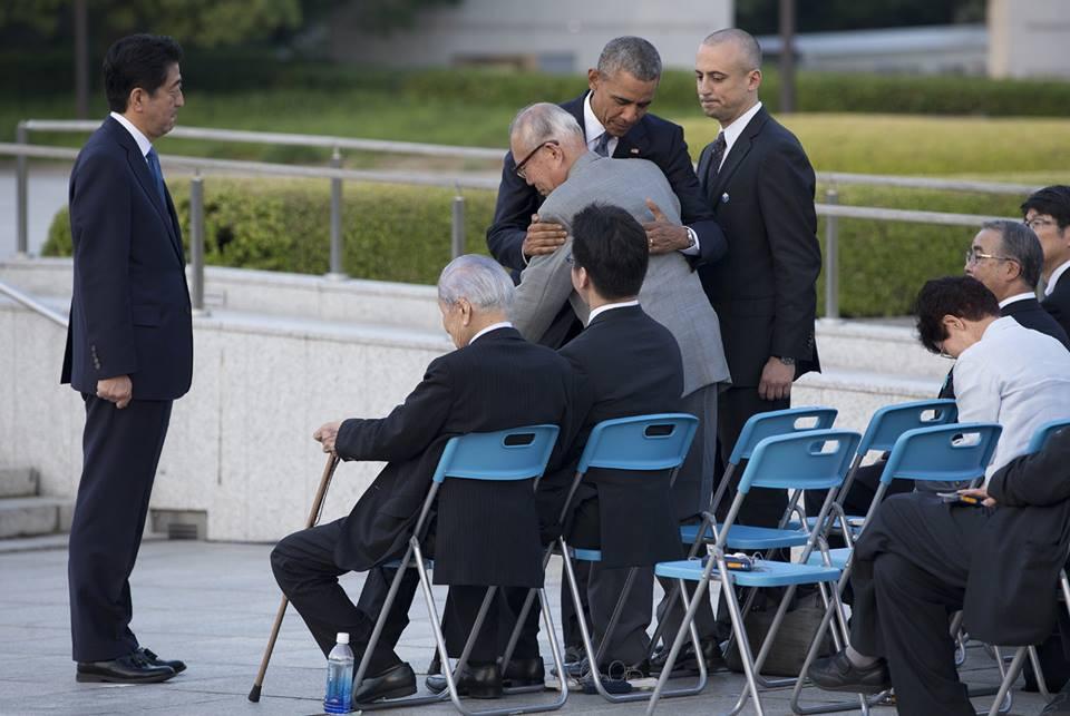 """""""The Hug"""" Source: The Japan Times"""