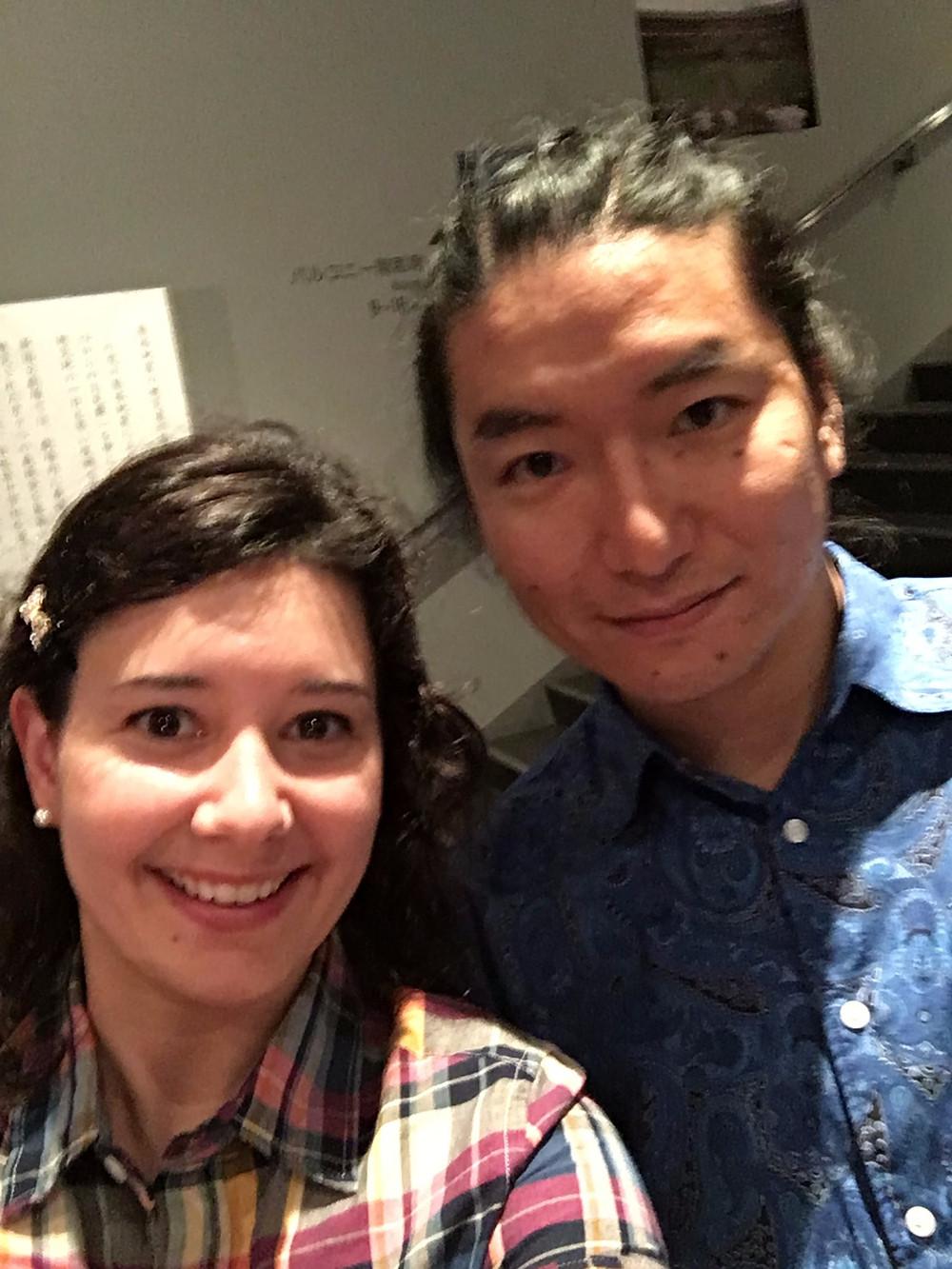 Mr. Ichikawa and me!