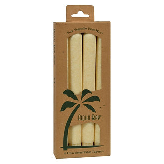 Palm Taper Candles - Ivory