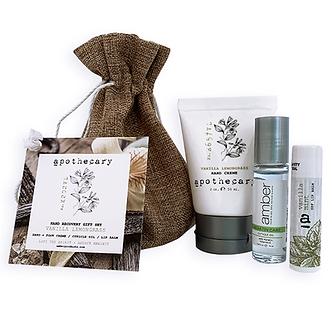 Hand Recovery Gift Set - Vanilla Lemongrass