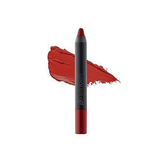 Suede Matte Lip Crayon - Crimson