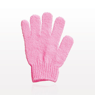 Exfoliating Bath Gloves - Pink
