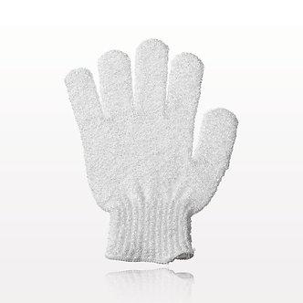 Exfoliating Bath Gloves - White