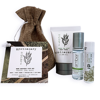 Hand Recovery Gift Set - Green Tea Mint