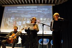 Concierto y recital en Casa Mediterráneo