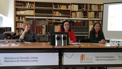 Presentación Taxidermia de Rosa Cuadrado.Biblioteca de Filosofía y Letras. Universidad de Alicante