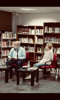 Presentación Cuaderno de Viaje de Rosa Cuadrado.Ciclo Poetas en la Biblioteca. Biblioteca de Santa P