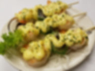 Appetizers available at Fujiyama Teppanyaki Restaurant