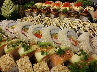 Sushi available at Fujiyama Teppanyaki Restaurant