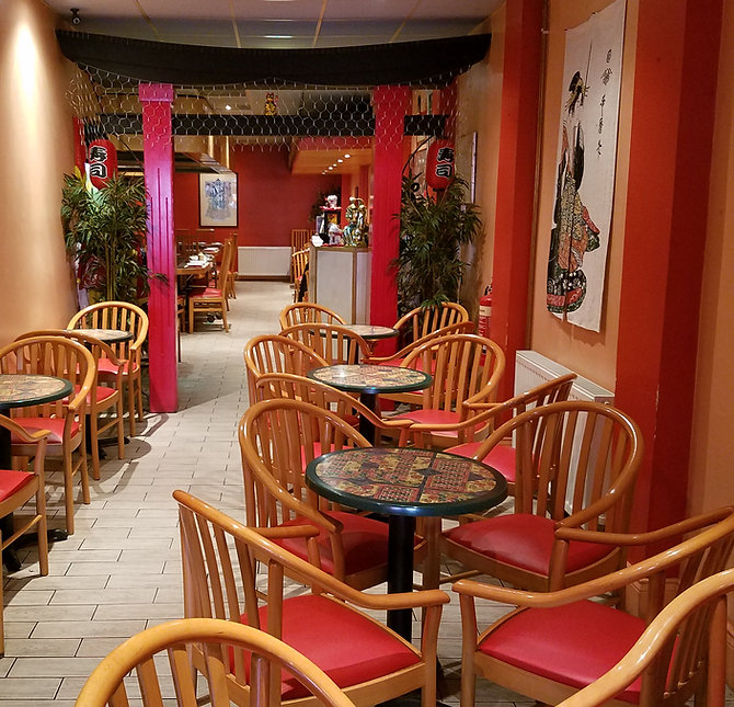 Fujiyama Restaurant Newcastle Bar Area