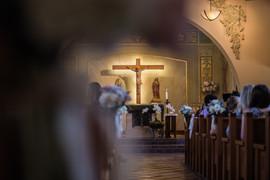 Catholic Church Wedding Reception at Laguna Beach Wedding