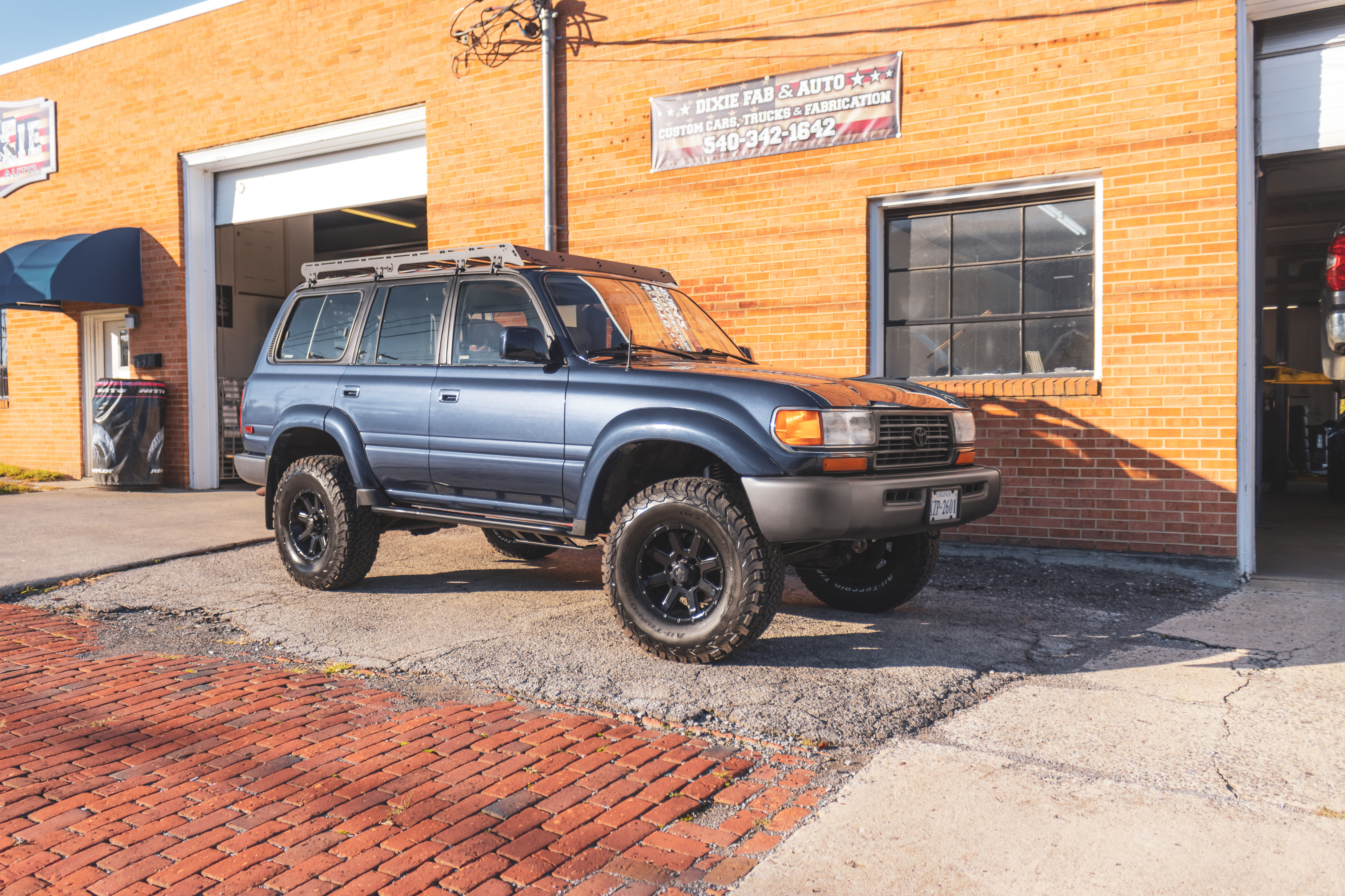 Land Cruiser Lift, Roof rack, and Side s