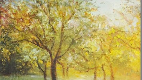 Orchard Walk, Summer's Evening