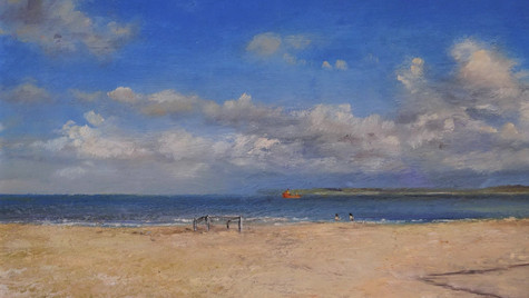 A Walk on an Empty Beach 20 by 30cm £475