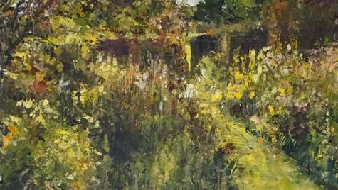 Evening Garden 30 by 20 cm £495