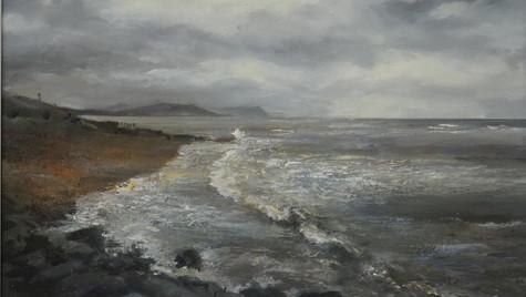 Storm Passing, Lyme Regis