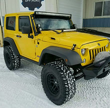 jeep customization lift kit lights