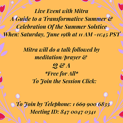 Live Event with Mitra A Guide to a Trans