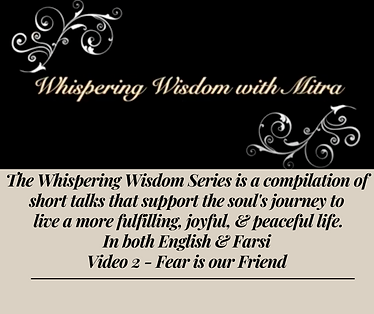 The Whispering Wisdom Series is a compilation of short talks that support the soul's journ