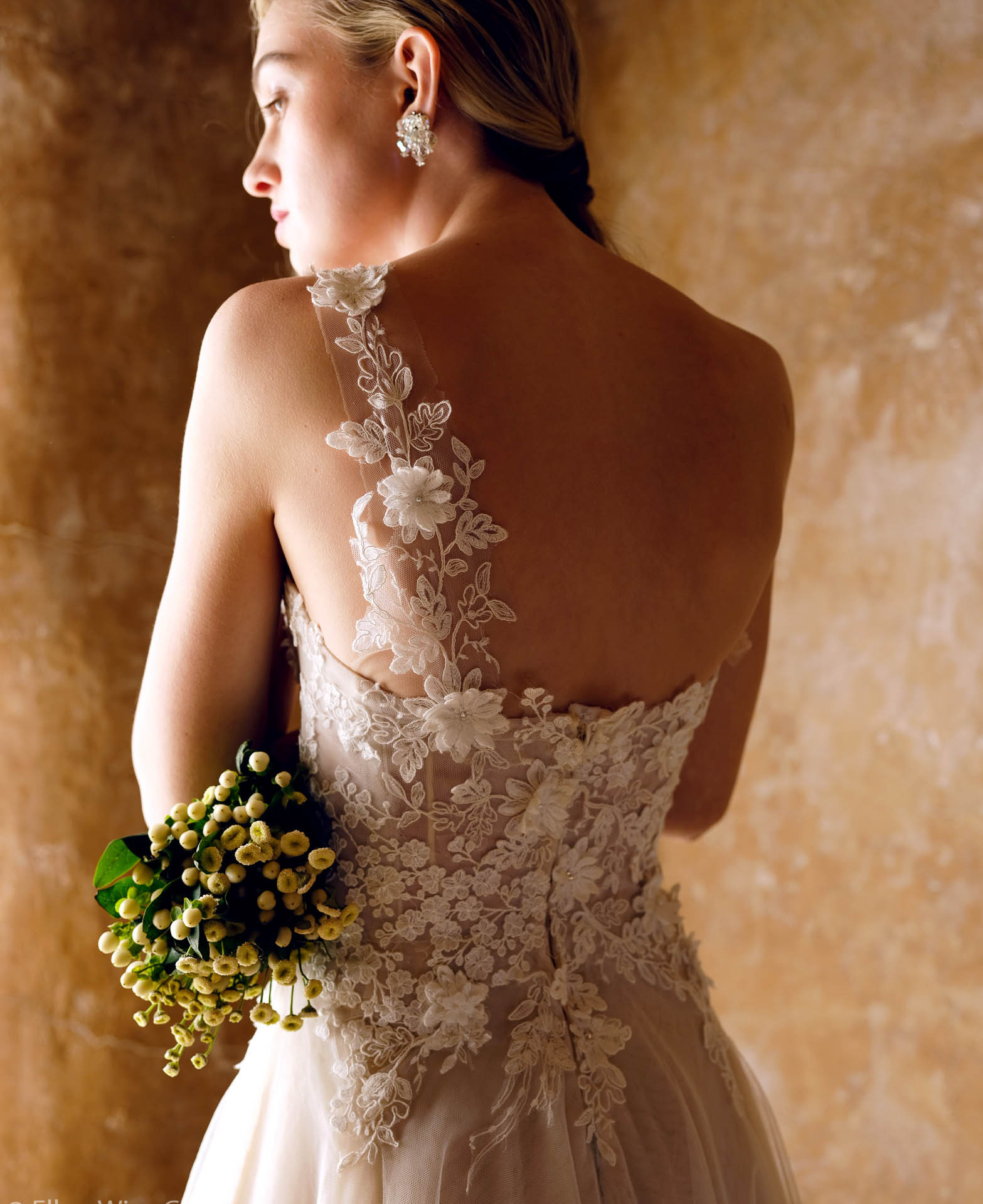 Emmaline Wedding Dress by Ellen Wise Couture