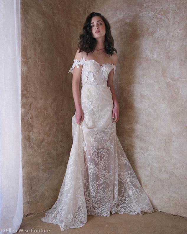 Isabella Wedding Dress by Ellen Wise Cou