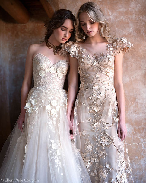 Allegra and Allesandra Wedding Gowns by