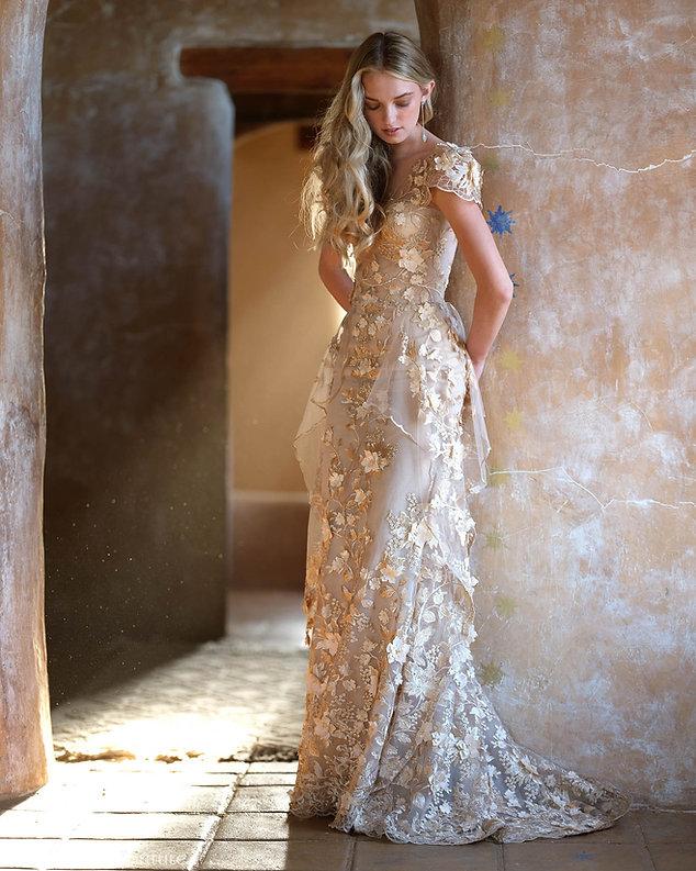 Allegra Wedding Dress by Ellen Wise Cout