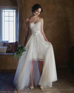 Audrey Wedding Dress by Ellen Wise Coutu