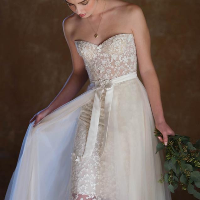 Audrey Wedding Dress by Ellen Wise Couture