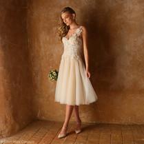 Emmaline Wedding Dress by Ellen Wise Couture
