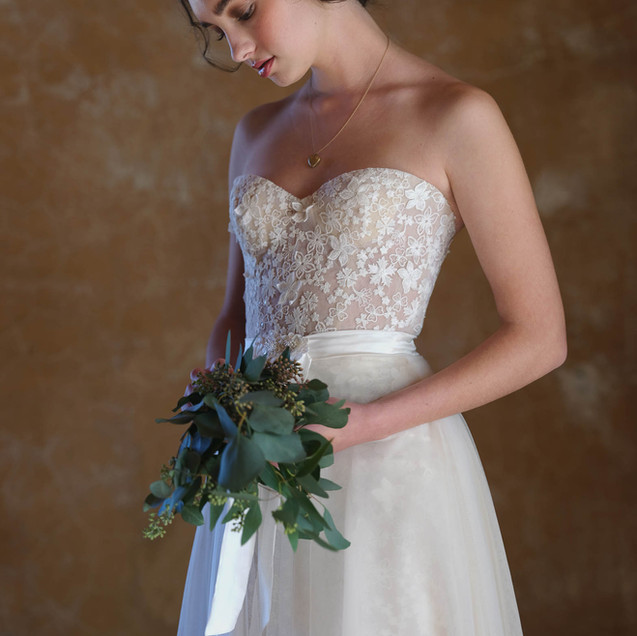 Audrey Wedding Dress by Ellen Wise Couture